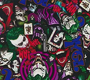 Hydrographics Film The Joker Color Water Transfer Printing Hydro Dip