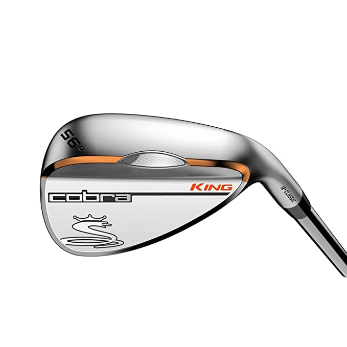 Amazon.com: Cobra Mens King Satin CL Stiff 52 Steel Wedge ...