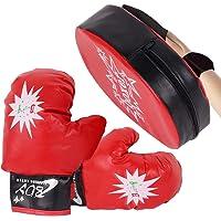 Limón Juego de Guantes de Boxeo Infantil - Ideales para Kickboxing, Training, Grappling, Sparring, Entrenamiento