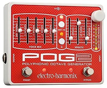 Octave POG II Pedal - Pedal multiefecto para guitarra, color plateado: Amazon.es: Instrumentos musicales