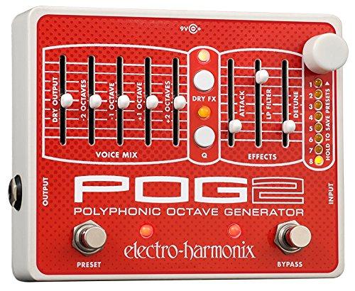 Electro-Harmonix POG2 Polyphonic Octave Generator (Pog2 Pedal)