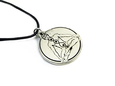 Amazon kundalini pewter pendant on cord necklace talisman and kundalini pewter pendant on cord necklace talisman and amulet collection aloadofball Images