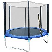 Wupyi2018 Outdoor trampoline voor kinderen, tuin, trampoline met veiligheidsnet, 300 kg, trampolineset