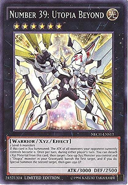MACR-ENSE2 Number S0: Utopic ZEXAL Super Rare Limited Edition LP Yugioh