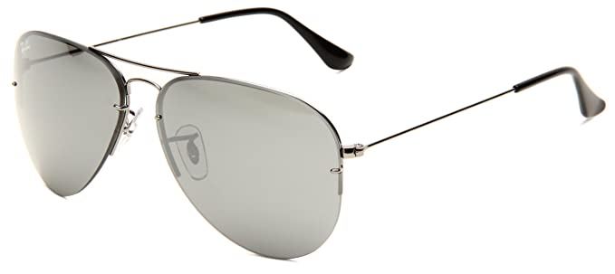 f4ff6a7b175 Ray-Ban Sunglasses FLIP OUT (RB 3460 004 6G 56)  Amazon.co.uk  Clothing