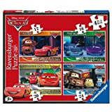 Disney Cars 12 16 20 24 Piece 4 Jigsaw Puzzle