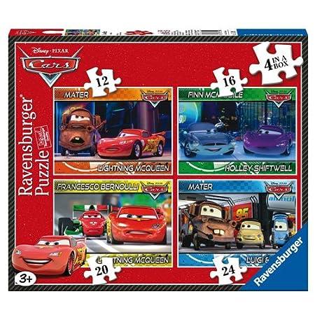 Ravensburger Disney Cars Puzzles unidades  y piezas
