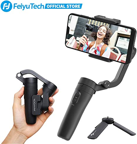 FeiyuTech Vlogpocket Estabilizador pare Móvil,Más ligero Handheld ...
