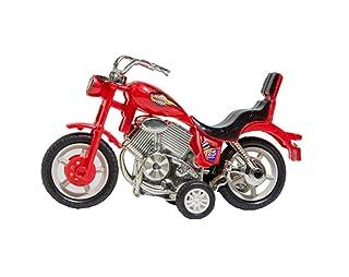 Black Temptation Un insieme di due giocattoli-motociclo di puzzle dei bambini di colore dell'orologio casuale
