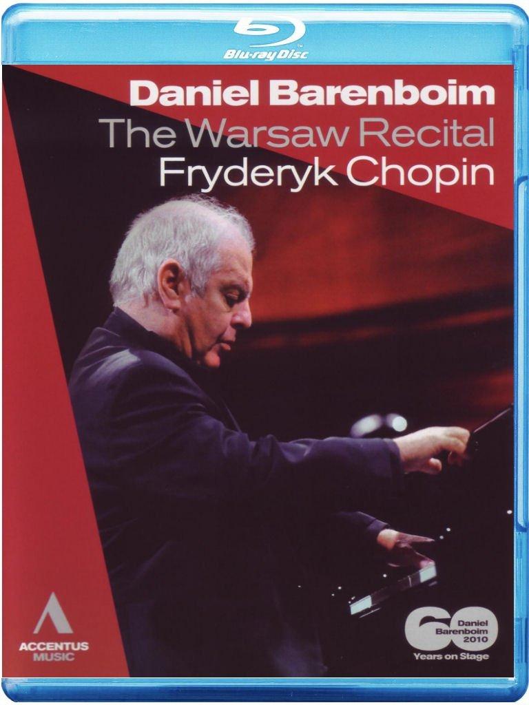 Blu-ray : Daniel Barenboim - Warsaw Recital Daniel Barenboim (Blu-ray)