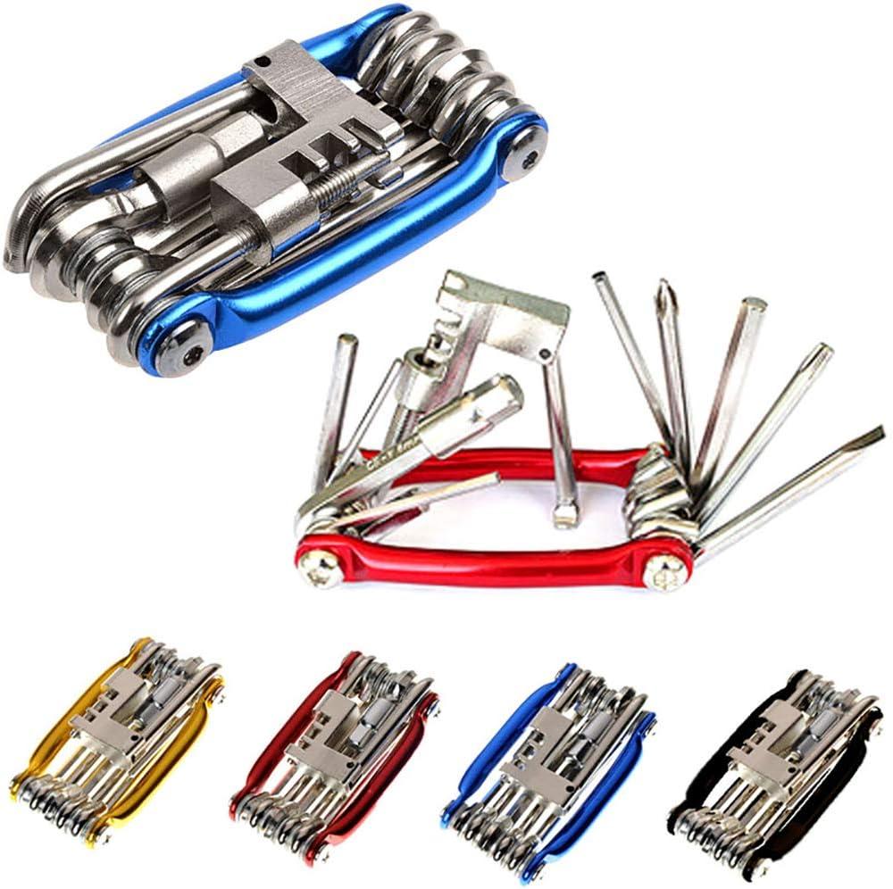 FCUCKDANN Kit de Herramientas de reparación de Bicicletas ...