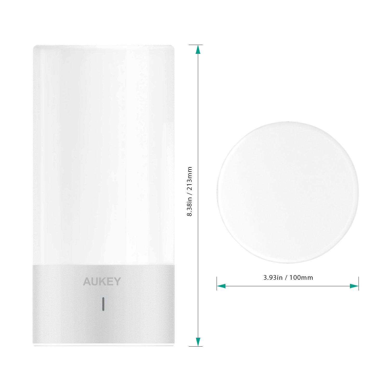 Lámpara de mesa LED AUKEY de oferta por 19 euros (Cupón Descuento) 2 lámpara de mesa AUKEY