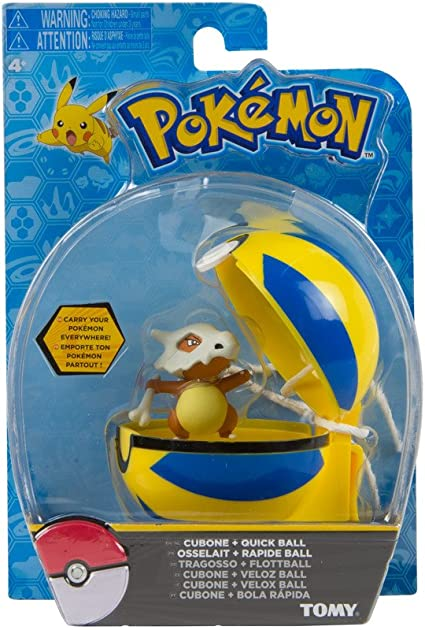 Machop /& Quick Ball Pokemon Clip N Carry Figura