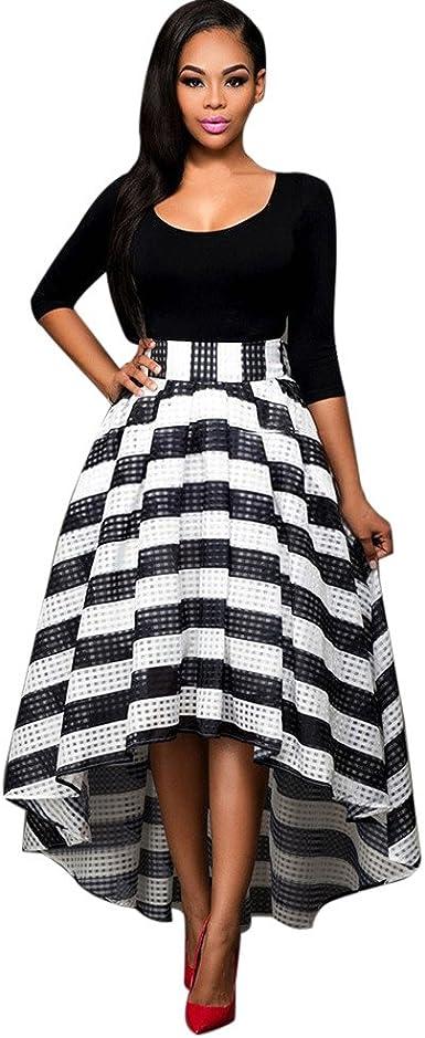 Falda para Mujer, Vestido Largo de Fiesta Mujeres Gala de Noche de ...