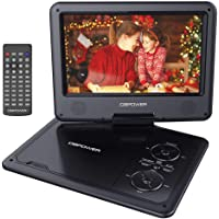 "DBPOWER 11.5"" Portable DVD Player with 9"" Swivel Screen, 5-Hour Built-in Rechargeable… photo"