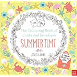 National Trust: The Colouring Book of Cards and Envelopes - Summertime (Colouring Books of Cards and Envelopes)