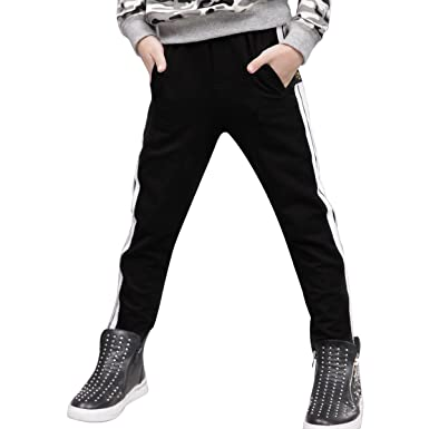 6ee7ec7e3123 NABER Kids Boys  Casual Tracksuit Bottoms Elastic Waist Sports ...