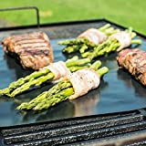 Barbecue & Picnic Supplies - 33x40cm Reusable Bbq Grill Mat Non-Stick Teflon Mat Baking Liner - Flatness Grillwork Tangle Place Grillroom Flat Grille Matt Lusterlessness - 1PCs