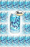 La Croix Pure Naturally Essenced Flavored Sparkling Water, 12 oz Can (Pack of 20, Total of 240 Oz)