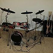 alesis strike pro kit eleven piece professional electronic drum kit with. Black Bedroom Furniture Sets. Home Design Ideas