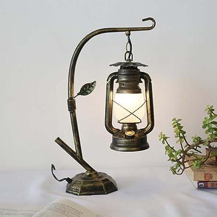 Amazon.com: Vintage Desk Lamp Kerosene Lamp Lantern ...