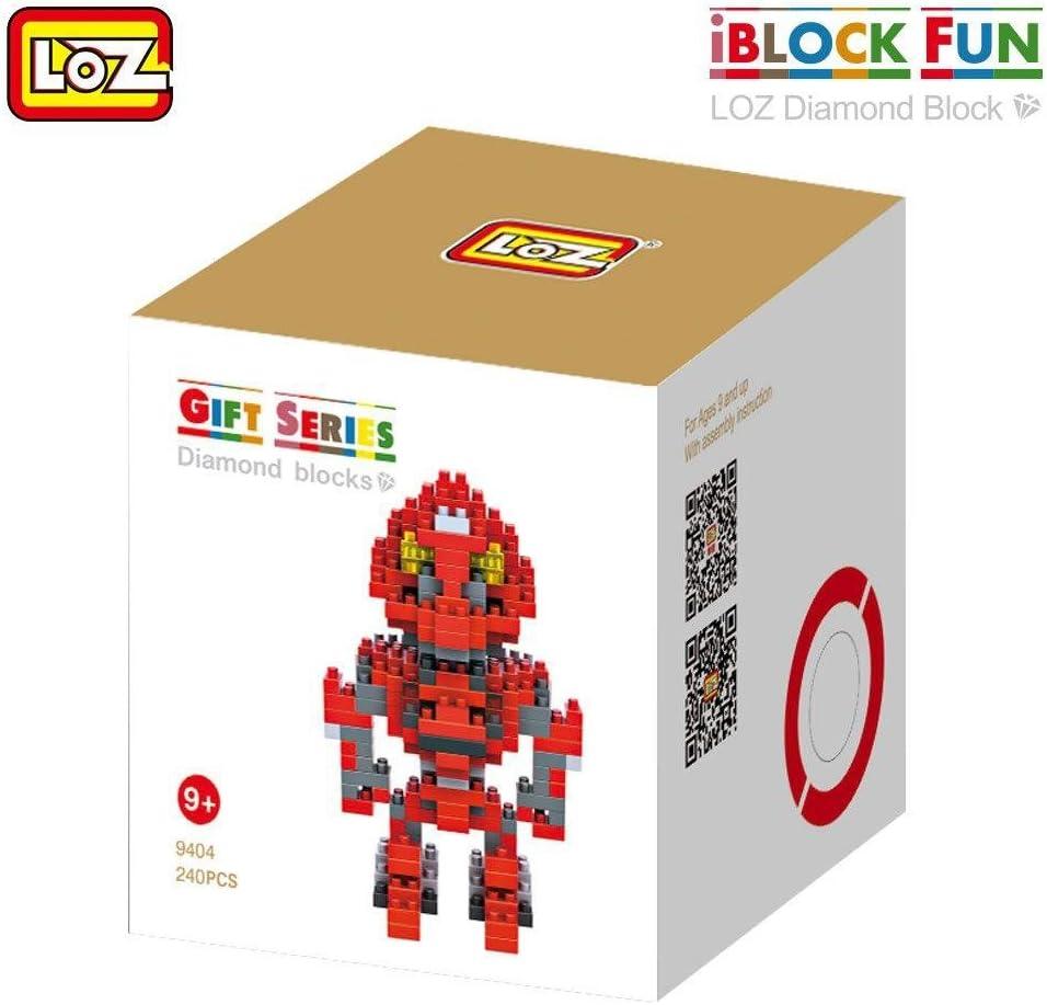 LoZ 9404 - Kit de construcción miniaturizada. Diamond Block.Transformers, Stinger. 240 piezas.: Amazon.es: Juguetes y juegos