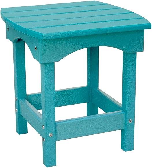 Harbor Side Table Aruba Blue