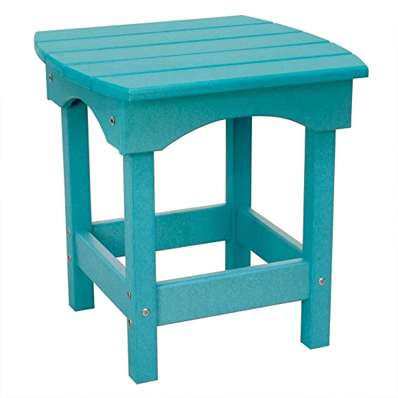 Harbor Side Table Aruba Blue