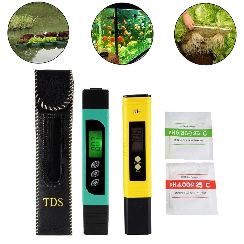 TDS + EC + Medidor de la Temperatura (3 in 1) y medidor Digital del pH de LCD