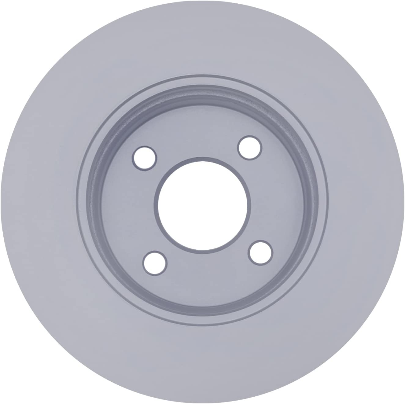 Disc Brake Rotor-Non-Coated Front ACDelco Advantage 18A1585A