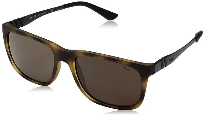 Ralph Lauren POLO 0PH4088 Gafas de sol, Matte Dark Havana ...