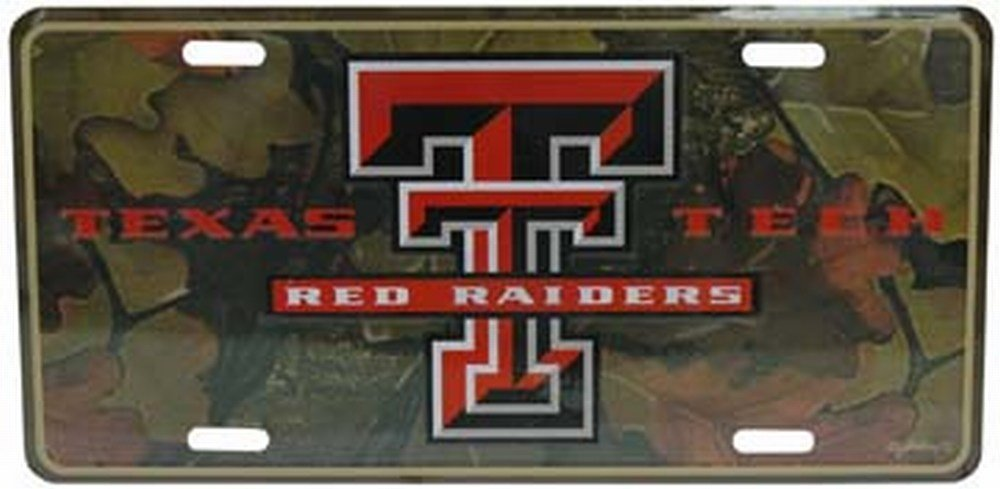 NCAA Texas Tech Red Raiders Car License Plate Gameday Outfitters 34067
