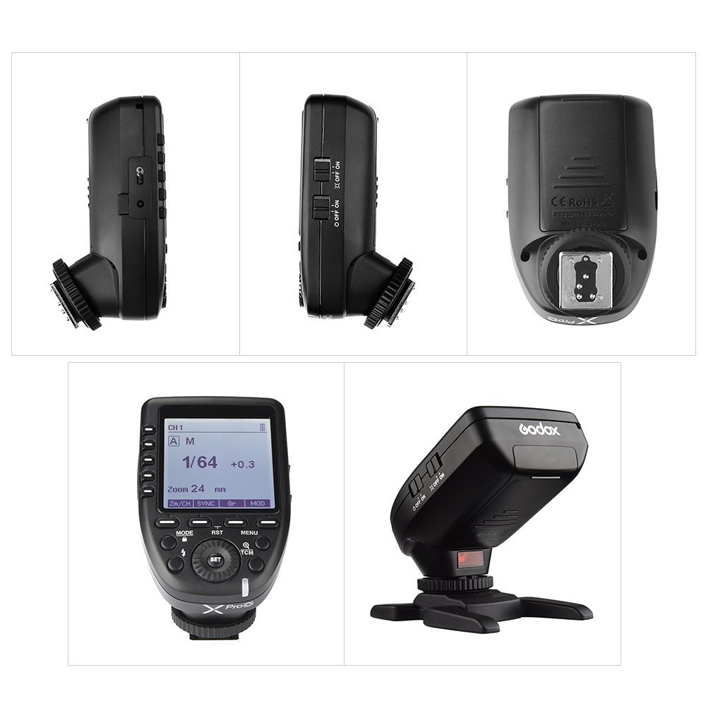 Godox XproS TTL Wireless Flash Trigger Transmitter Support TTL Autoflash 1//8000s HSS Large LCD 5 Group Buttons 11 Customizable Functions for Sony a7 II a77 a99 ILCE-6000L a9 A7R A7RII a350 DSC-RX10