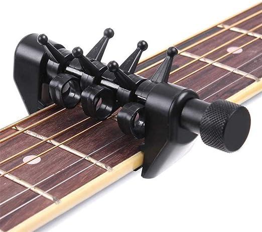 DYHQQ cejilla de afinación para Guitarra acústica, eléctrica ...