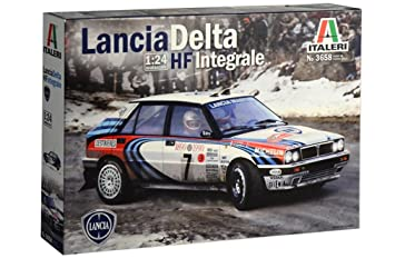 Maqueta de Coche de Rally Lancia HF Integrale 1:24: Amazon ...
