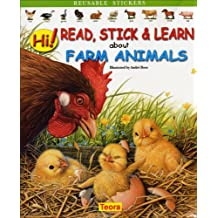 Hi! Read, Stick & Learn about Farm Animals