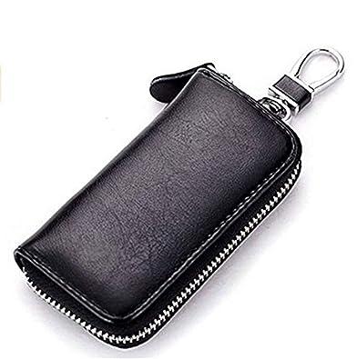 Amazon.com: LERORO - Funda de piel para llaves de coche con ...