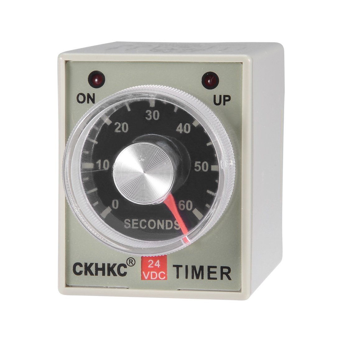 uxcell DC 24V 10M 8 Terminals Range Adjustable Delay Timer Time Relay AH3-3 a18031500ux0149