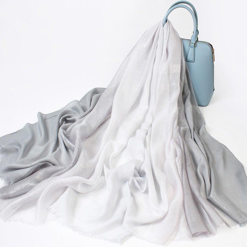 MEIDUO Bufandas y Chales Bufandas de seda de las mujeres de las bufandas de la primavera y del otoño...