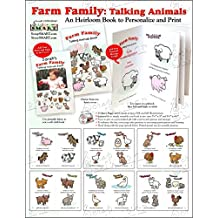 ScrapSMART - Farm Family Childrens Book - Software Collection - Microsoft Word, Jpeg, PDF files (CDFRMB140)