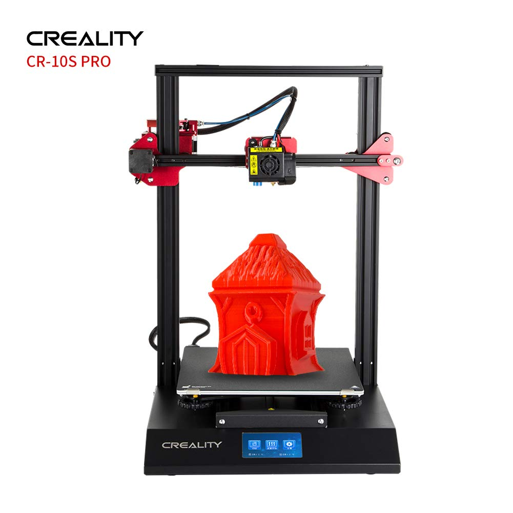 Creality 3D Printer Upgraded CR-10S Pro with Auto-Level, Capricorn PTFE and  Bondtech Extruder Dual Gears, Printing Size 310mmx320mmx400mm