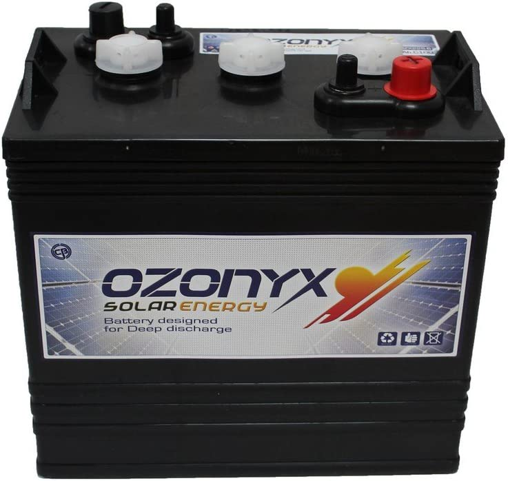 Batería Monoblock 6V 250Ah <br /> Ciclica OZONYX