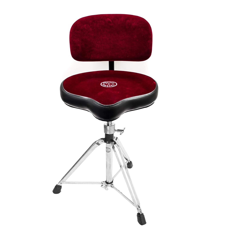 Roc n Soc Drum Stool Throne With Custom Base Red