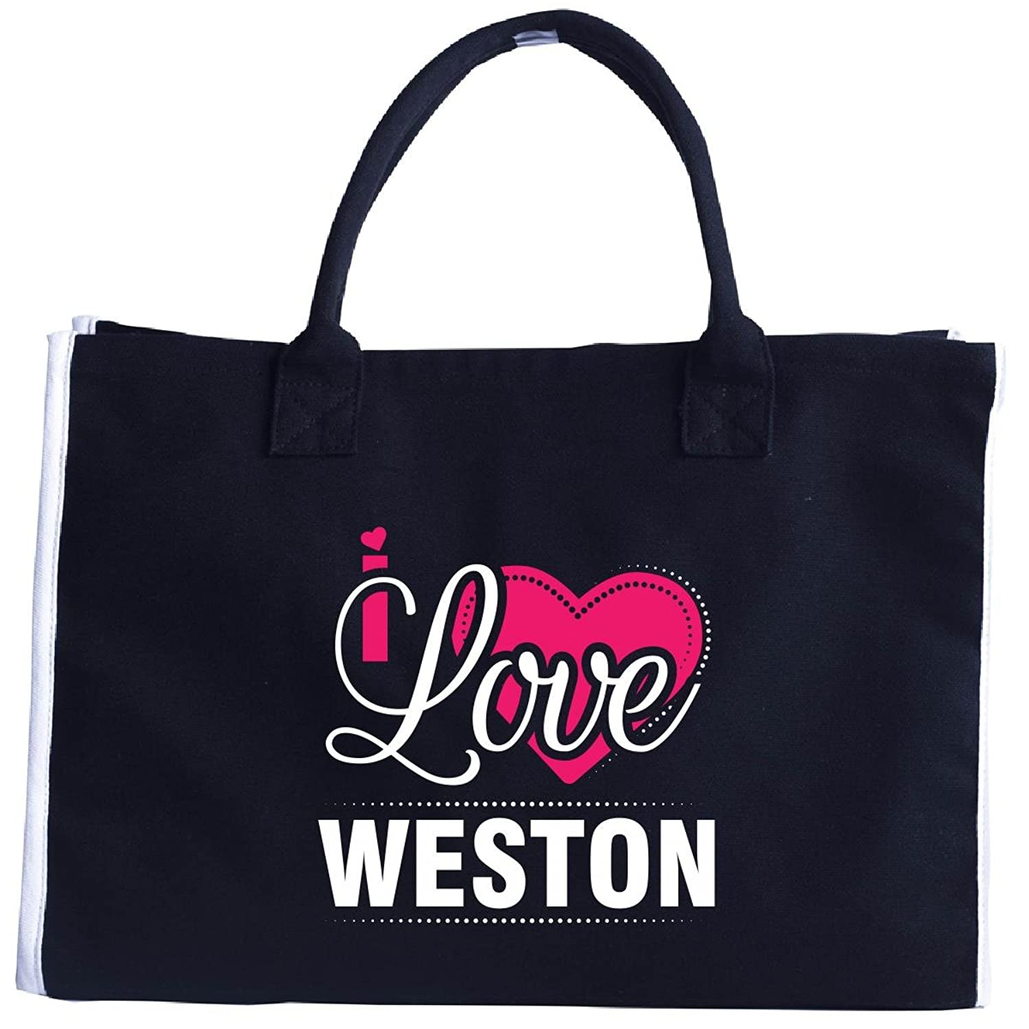 I Love Weston - Cool Gift For Weston From Girlfriend - Tote Bag