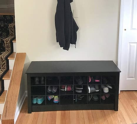 Amazing Amazon Com Shoe Storage Bench Entryway Shoe Organizer In Caraccident5 Cool Chair Designs And Ideas Caraccident5Info