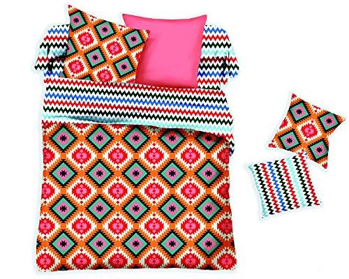 Swanson Beddings Diamond 3-Piece Bedding Set Duvet Cover and Two Pillow Shams King