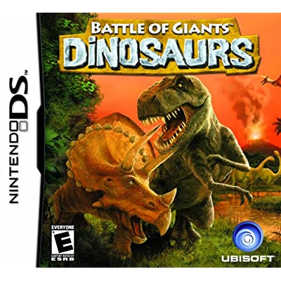 Battle of Giants: Dinosaurs - Nintendo DS