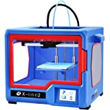 QIDI TECH 3D Printer X-one2 Fully Metal Structure 3.5 Inch Touchscreen Heated Bed Build Size 150 * 150 * 150mm