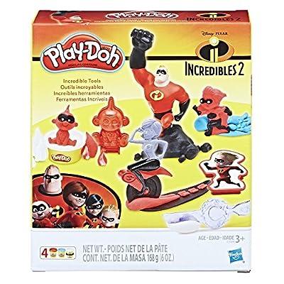 Play-Doh Disney/Pixar Incredibles 2 Incredible Tools: Toys & Games