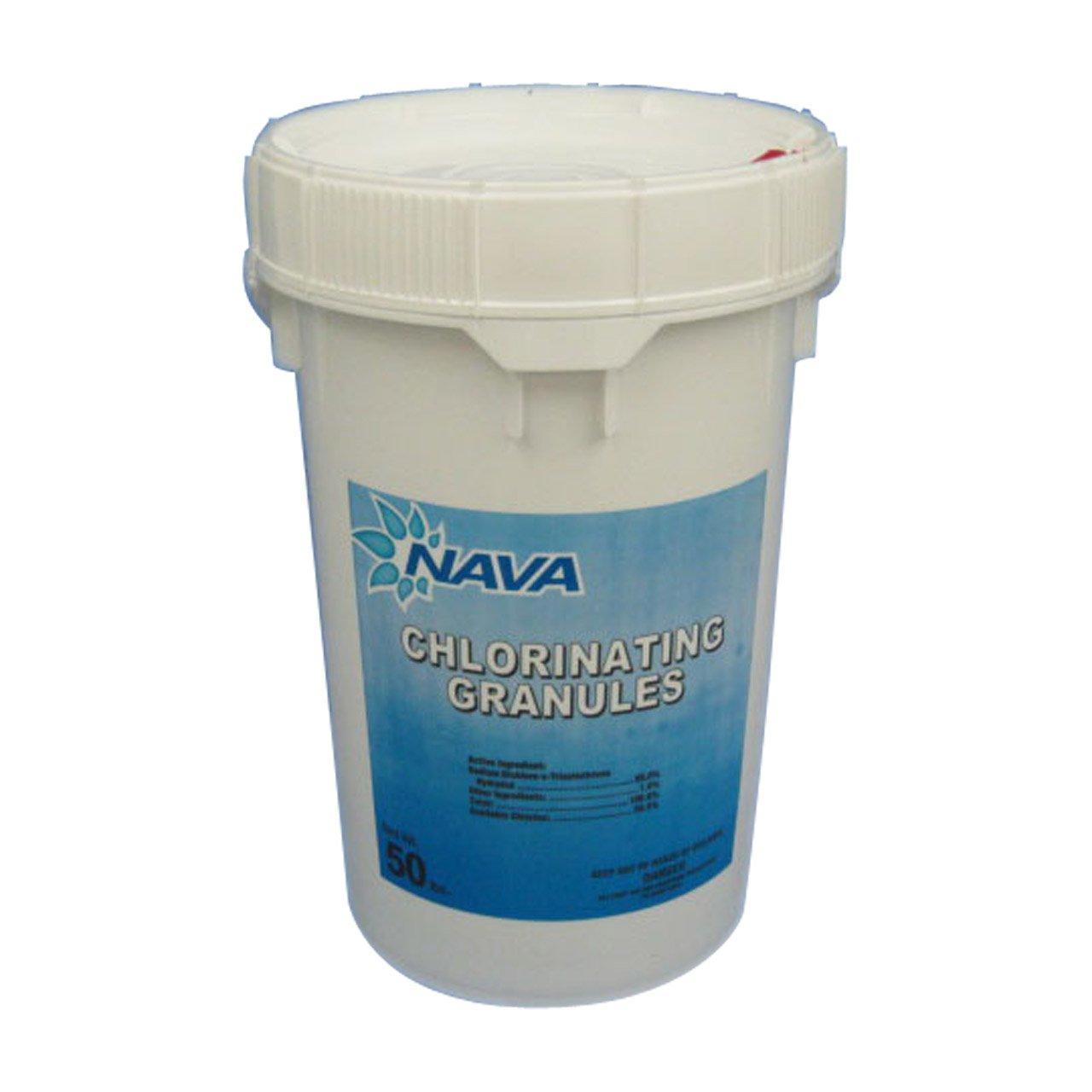Nava Chlorinating Di-Chlor Granules - 50 lb. Bucket by NAVA